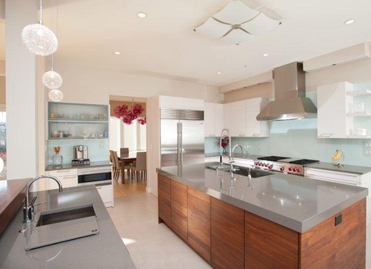 30 Fresh and Contemporary Kitchen Countertop Ideas   Kitchen Design ...