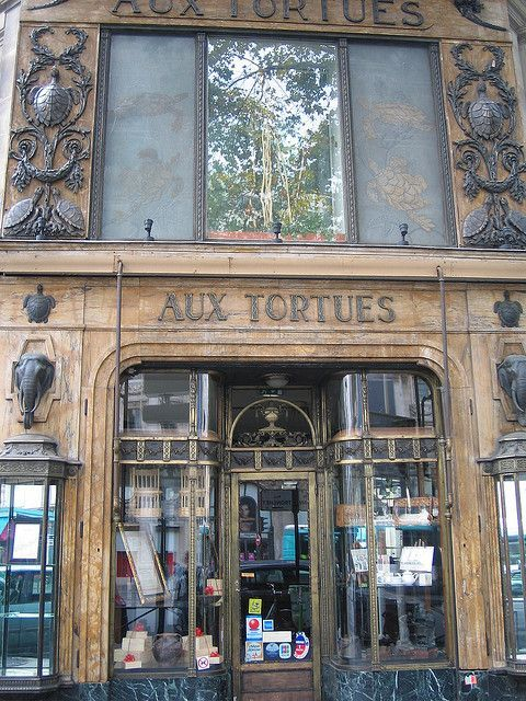 Rue Tronchet and Boulevard Haussmann, Paris. One can