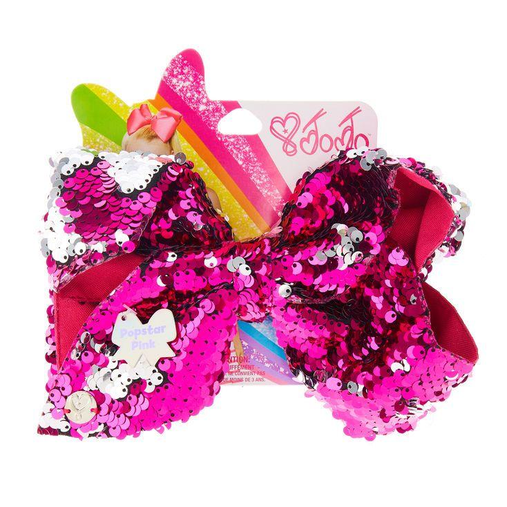 Jojo Siwa LG Pop star Pink Silver