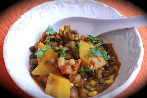 Three Sisters Stew -- a traditional Chickasaw recipe