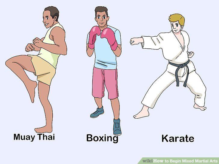 Begin mixed martial arts martial arts mixed martial
