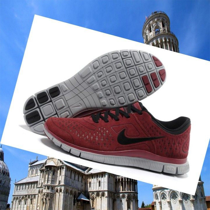 nike Free rosso
