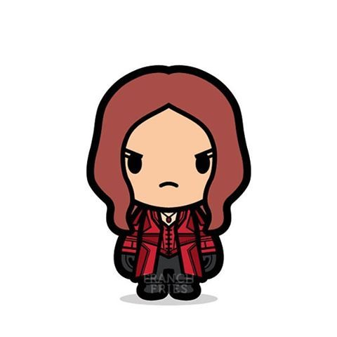 Scarlet Witch Kawaii Cuties Avengers Superheroes Avengers