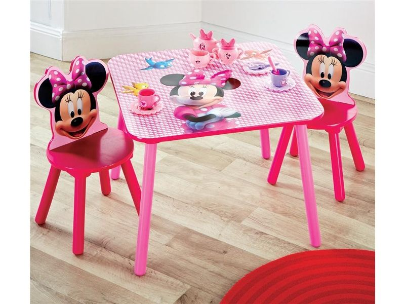 Nice Disney Minnie Mouse Table And Chair Set