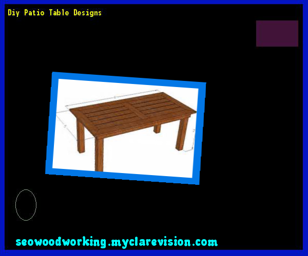 Diy Patio Table Designs 123050 - Woodworking Plans and Projects!