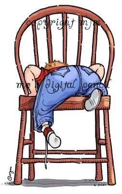 Big Chair | Big chair, Baby clip art, Chair drawing