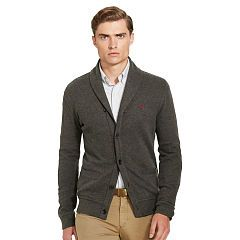 Estate-Rib Cotton Cardigan - Polo Ralph Lauren Cardigan & Full-Zip ...