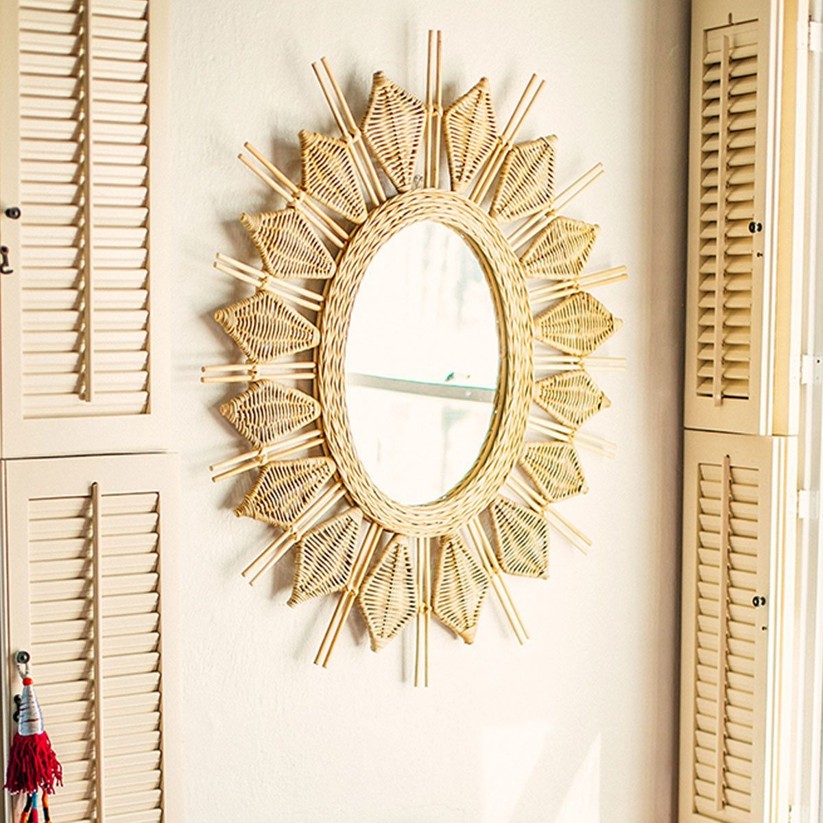 Jungalow Yala Wall Mirror | Products
