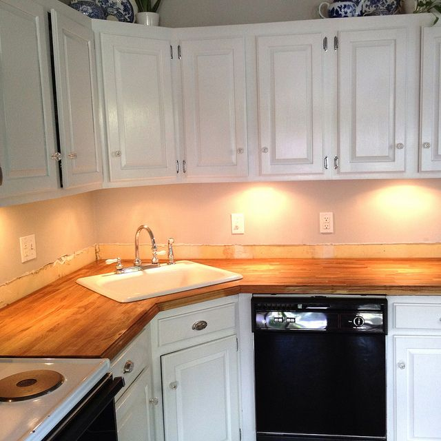 How To Do A Corner Sink With Butcher Block Countertop Butcher