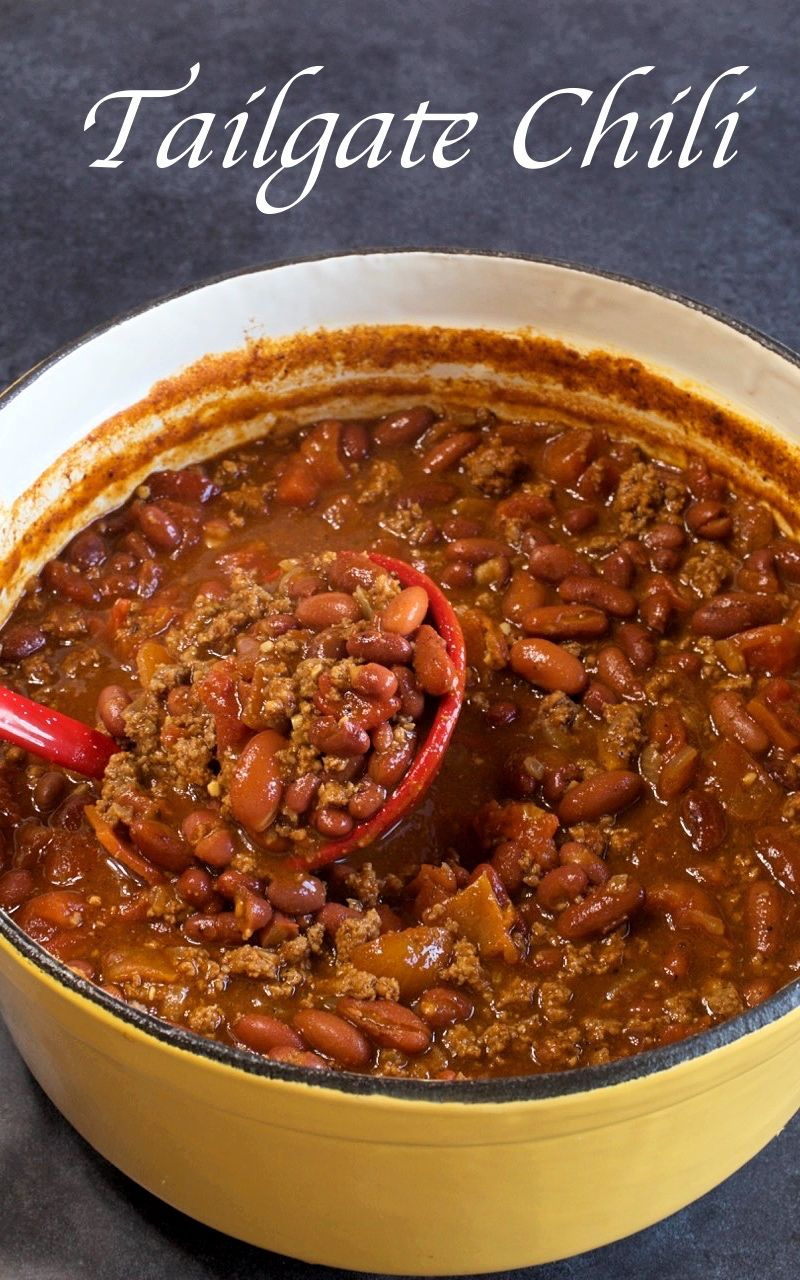 Tailgate Chili My Country Table Recipe Tailgate Chili Hot Chili Recipe Best Chili Recipe Ever