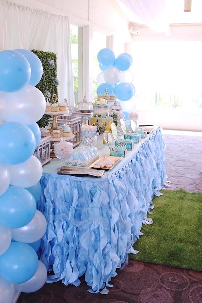 Darling Oh Baby Boy Baby Shower Kara S Party Ideas Dessert Table Baby Shower Boy Baby Shower Dessert Table Baby Shower Decorations
