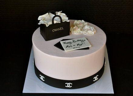 Chanel Cake - by sweetibakery @ CakesDecor.com - cake decorating website