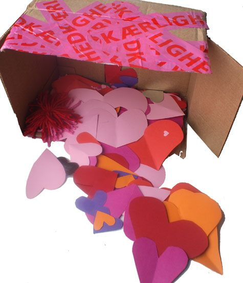 Heart Attack Valentine Package
