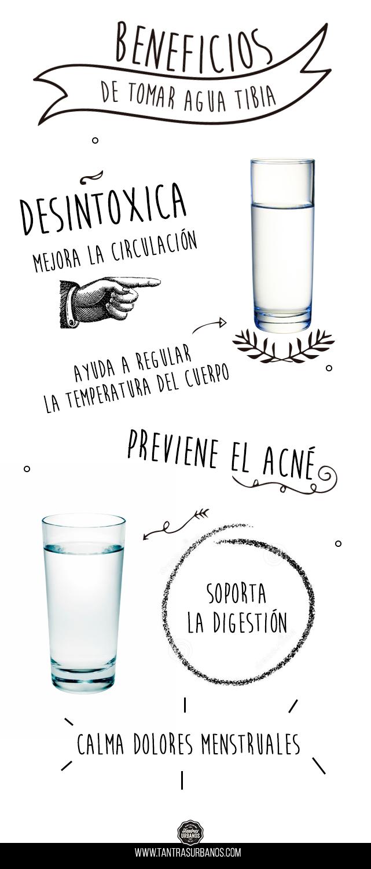 Beneficios de tomar agua caliente - Tantras