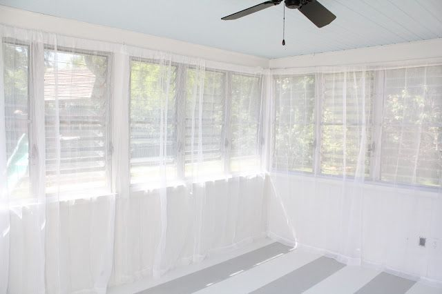 hanging curtains with tension wire | Hanging curtains, Hang curtains ...