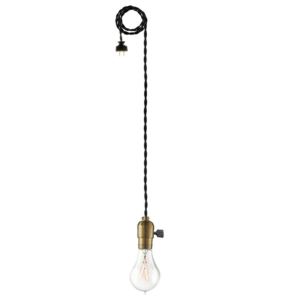 plug in industrial lighting. Burnside Plug-In Industrial Cord Pendant A4433 Plug In Lighting I