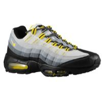 more photos 1dc8b a79e5 Nike Air Max 95 - Men s - Black Tour Yellow Anthracite Cool Grey