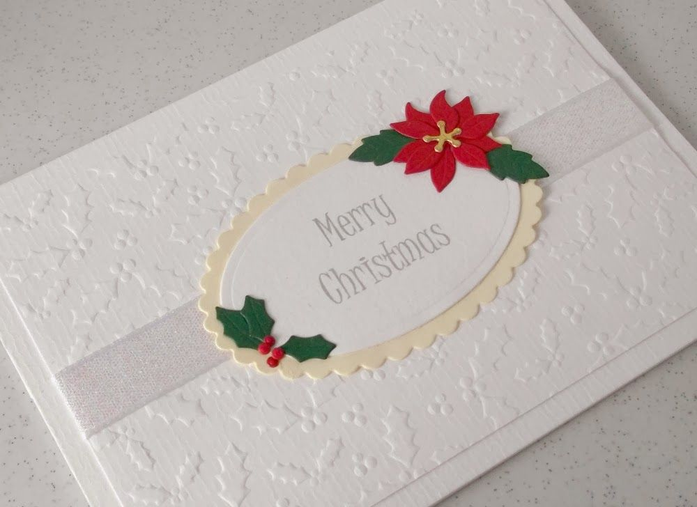 Paper Daisy Cards: Christmas