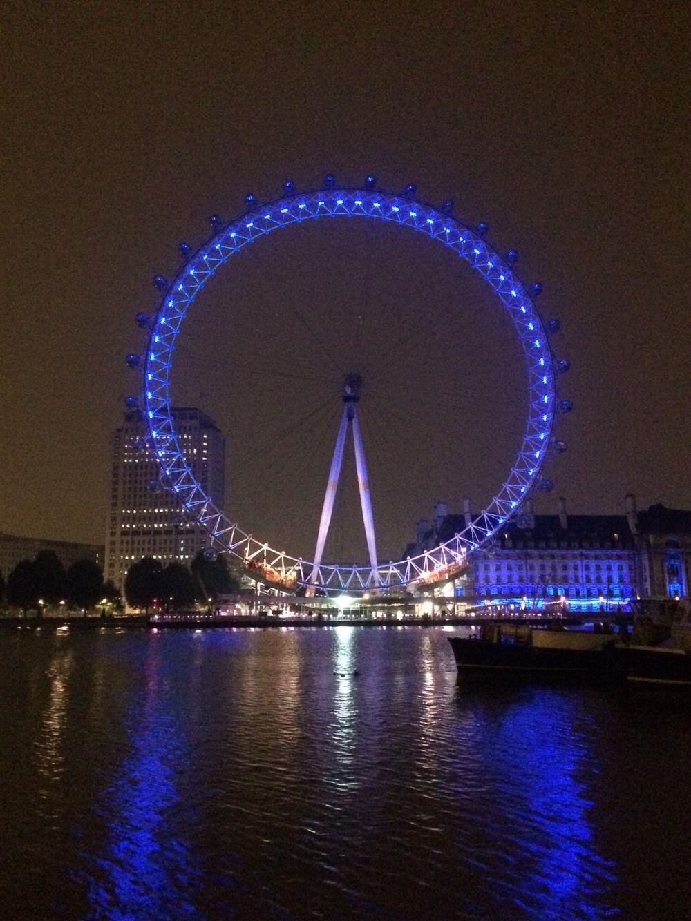London Eye At Night London Eye At Night London Eye Landscape