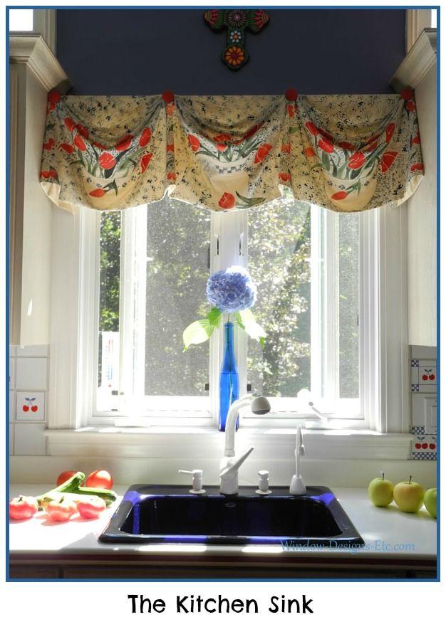 My Kitchen Sink Capturing The View Custom Window Treatments
