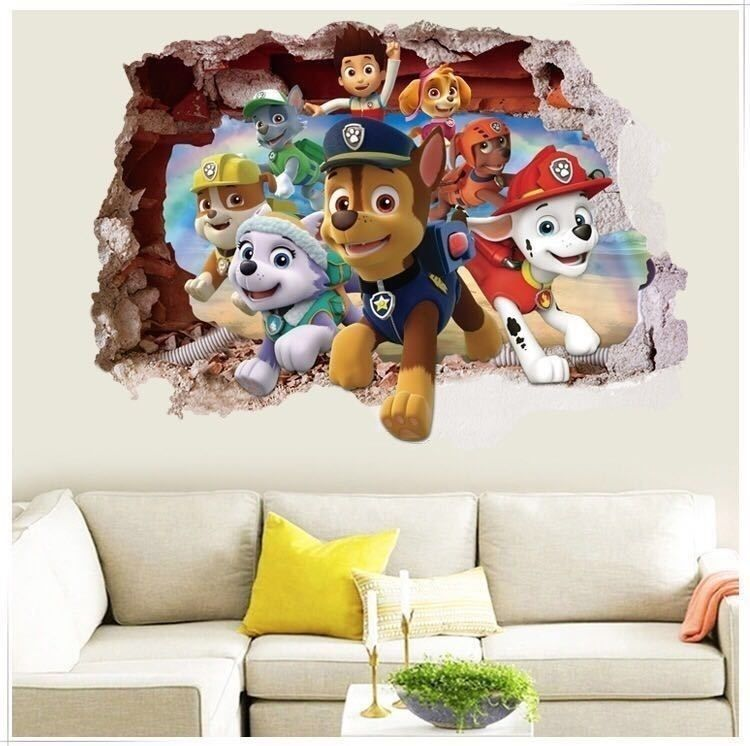 Paw Patrol In 2020 Kids Room Wall Decals Kids Wall Decals Wall
