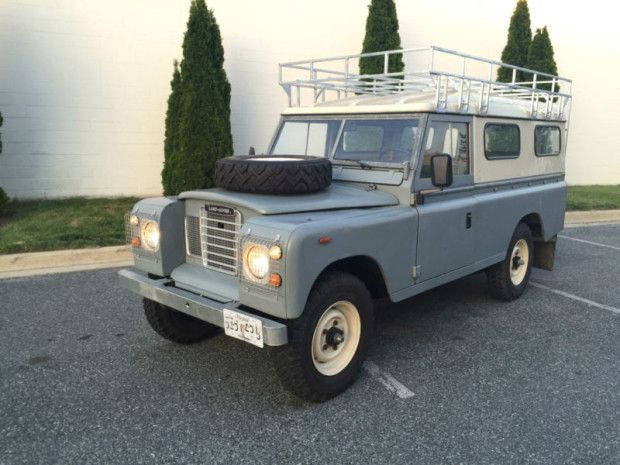 1980 land rover other 109 2 door vehicles land rover range rover pinterest land rovers. Black Bedroom Furniture Sets. Home Design Ideas