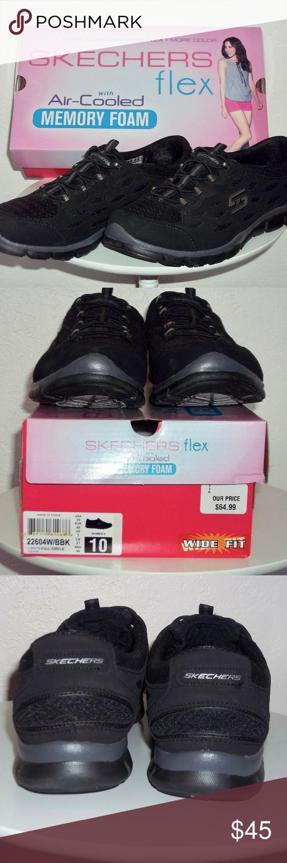 Skechers Flex sneakers Womens SZ 10