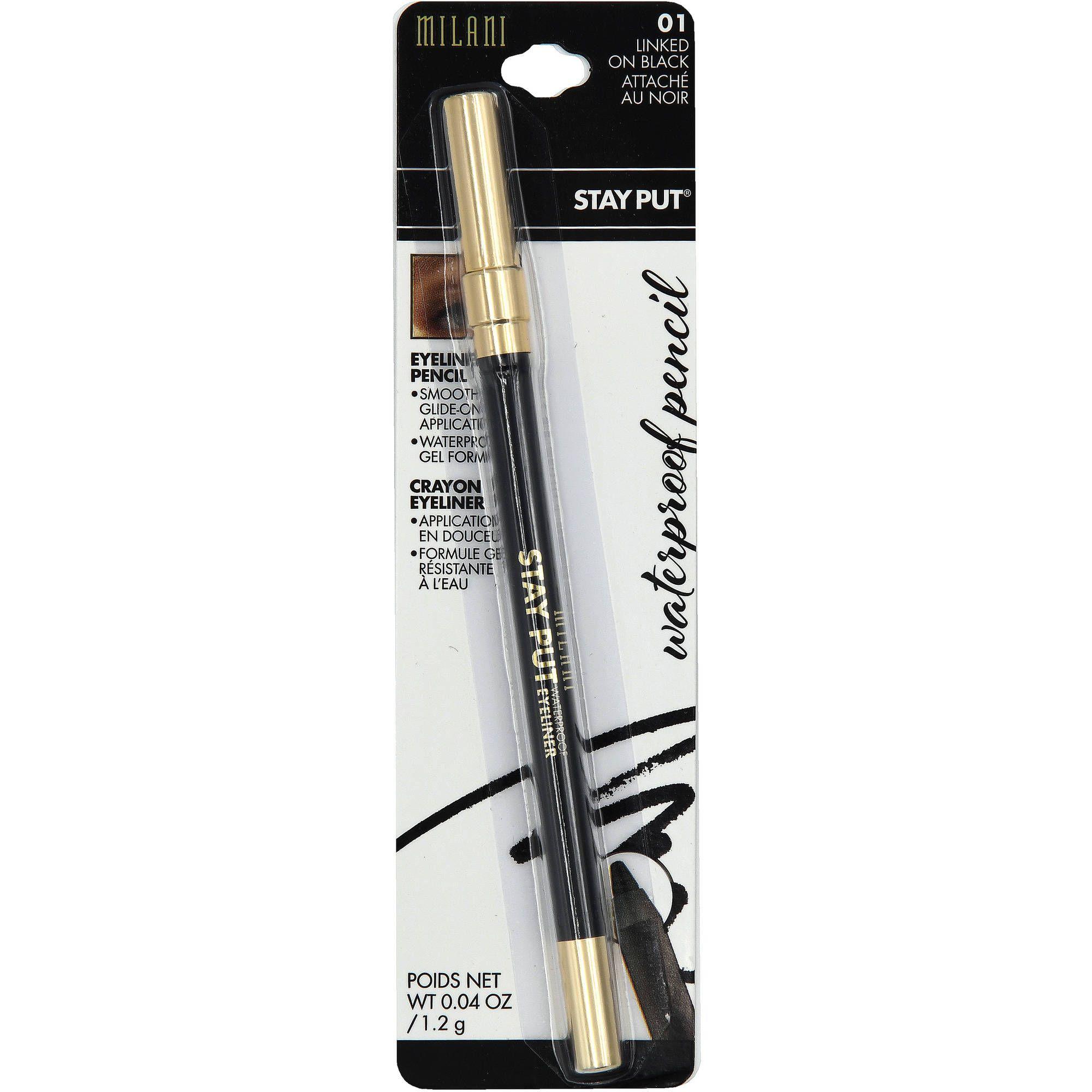 MILANI Stay Put Waterproof Eye Liner Pencil, Linked On