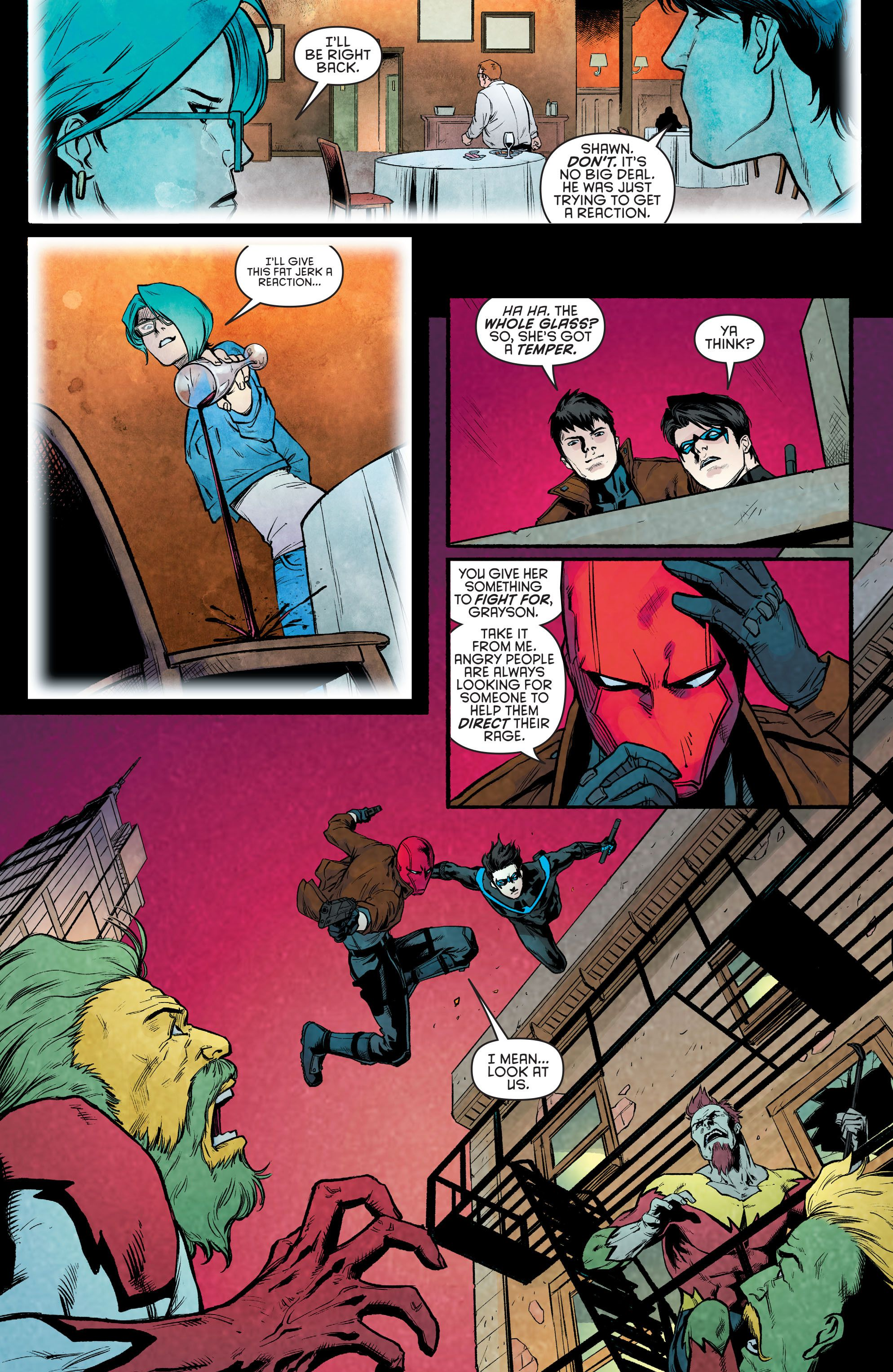 Nightwing wore feathers | MyConfinedSpace