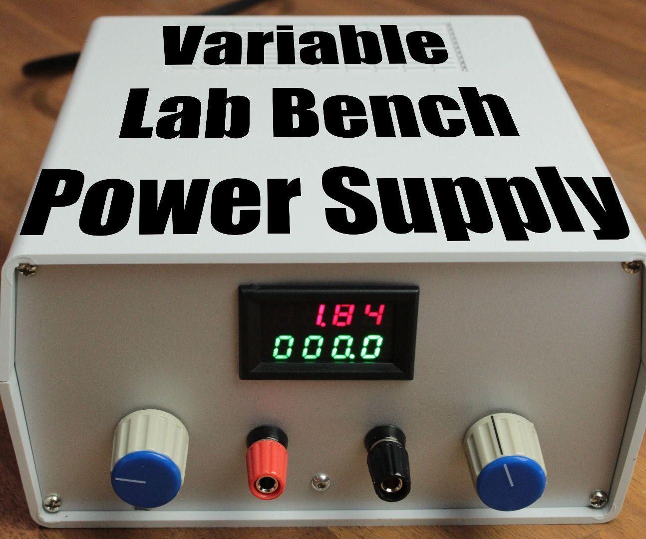 DIY Lab Bench Power Supply [Build + Tests] Power supply