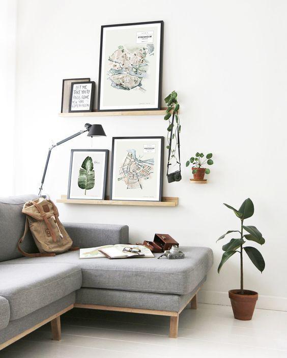 Wandplank ideen  Wall  Wohnzimmer Zuhause und Wohnung