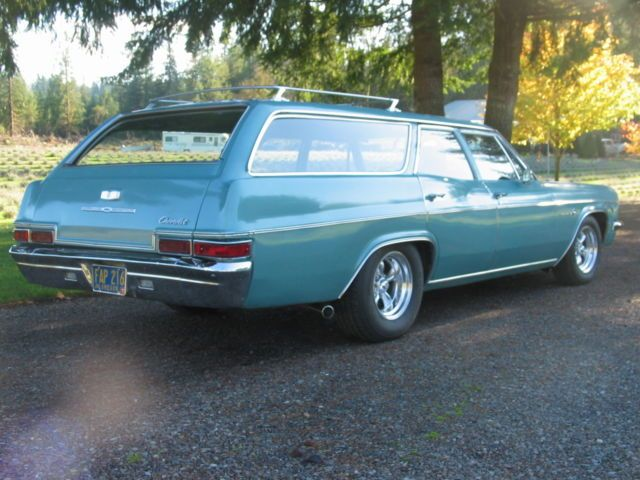 1966 Chevrolet Impala 9 Pass Station Wagon For Sale Photos