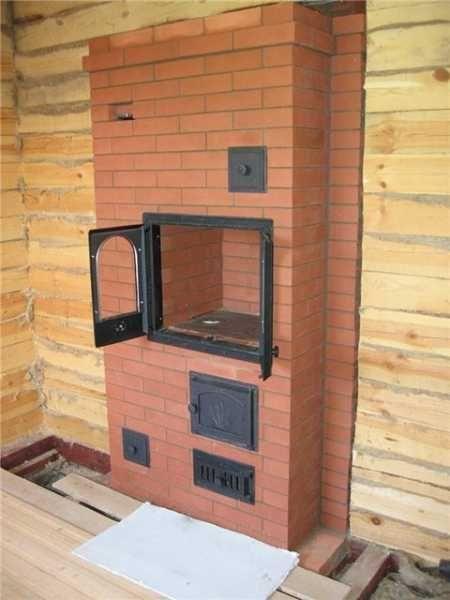 Кладка печи для дома своими руками галанка 3 х оборотный дымоход дымоход керамический купить спб