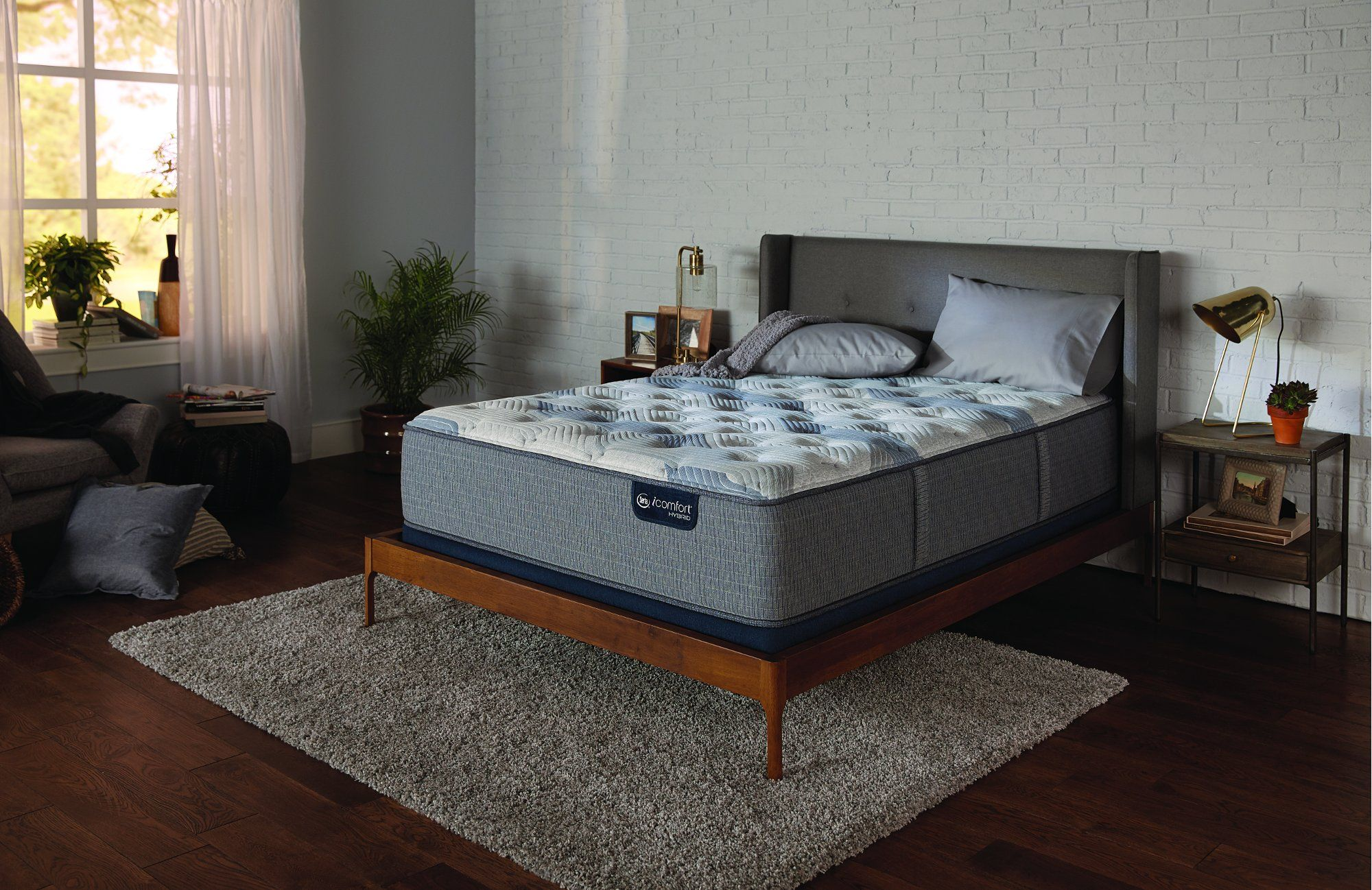 Serta 200 Plush Split California King Mattress