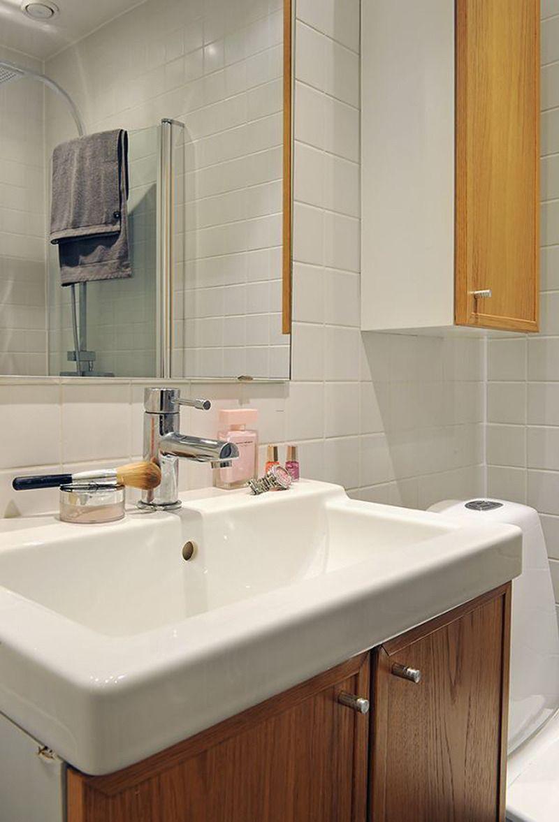 Lovely Scandinavian Bathroom Design Badezimmer Design Skandinavisches Badezimmer Badezimmer Dekor