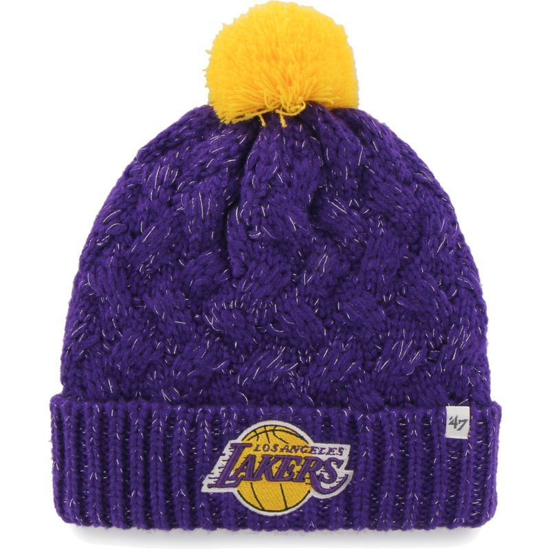'47 Women's Los Angeles Lakers Fiona Knit Hat, Team