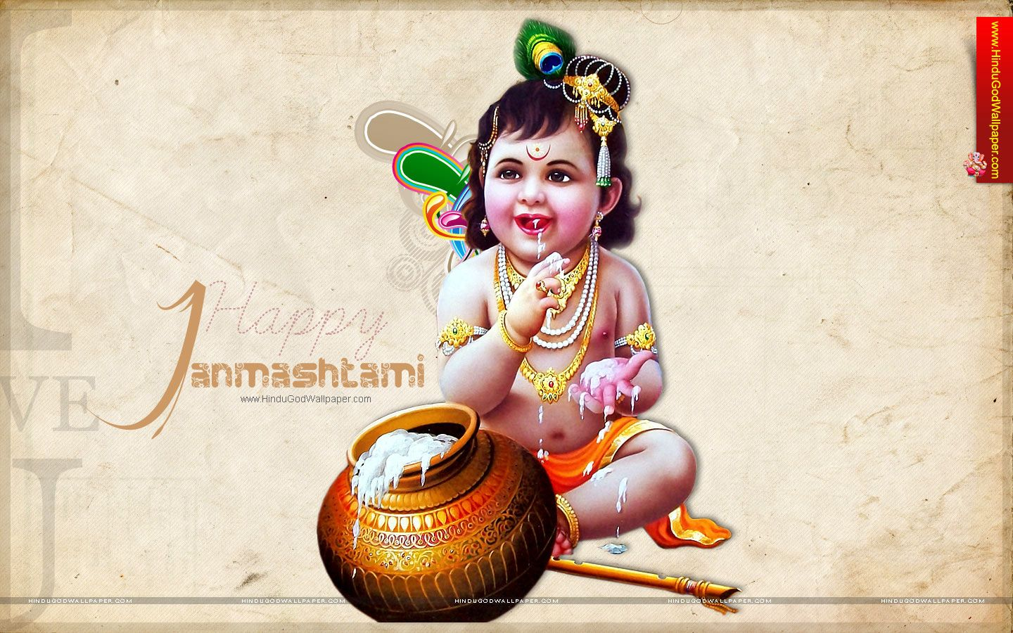 Krishna Janmashtami Hd Wallpapers And Images Download Janamashtami