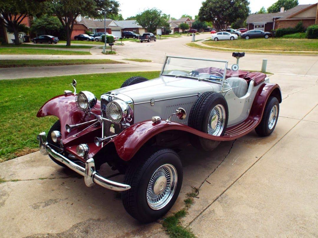 Pin On 1939 Jaguar Ss100 Replica