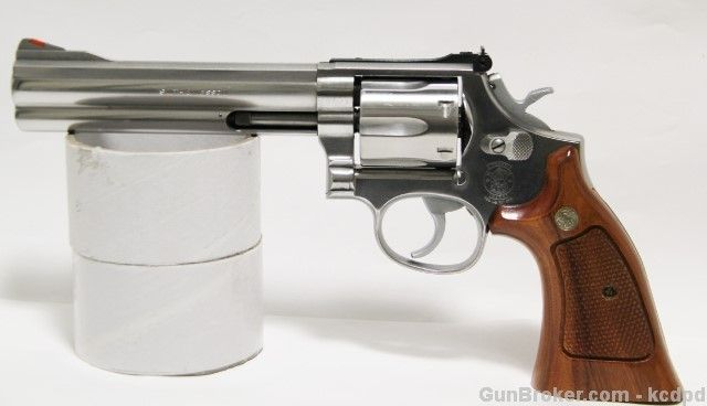 Smith Wesson 686 3 357 Mag Stainless Revolver 6 Inch For Sale On Revolvers At GunBroker 357mag