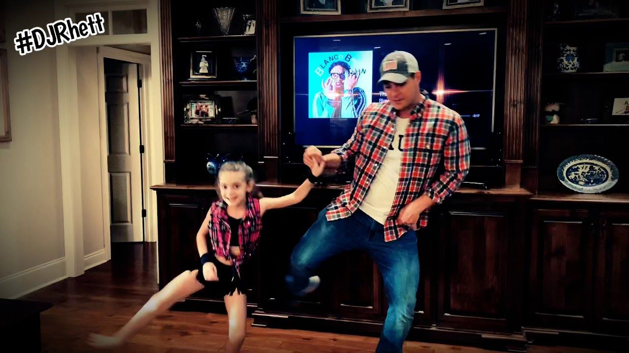 Daddy/daughter Git Up Challenge YouTube Dad and