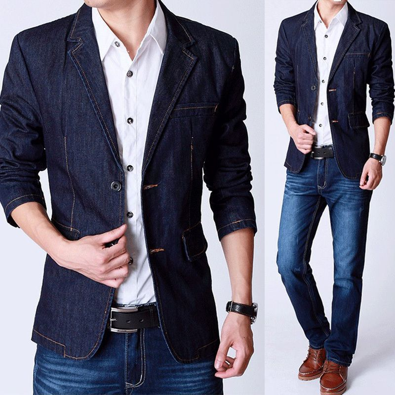 nice loking casual blazer for men with jeans (9) | Blazers ...