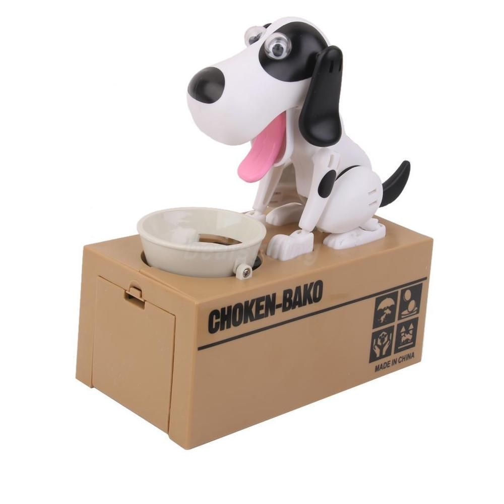 The coin eating doggy bank funny japanese dog money box cool piggy bank gift in collectibles banks registers vending still piggy banks ebay