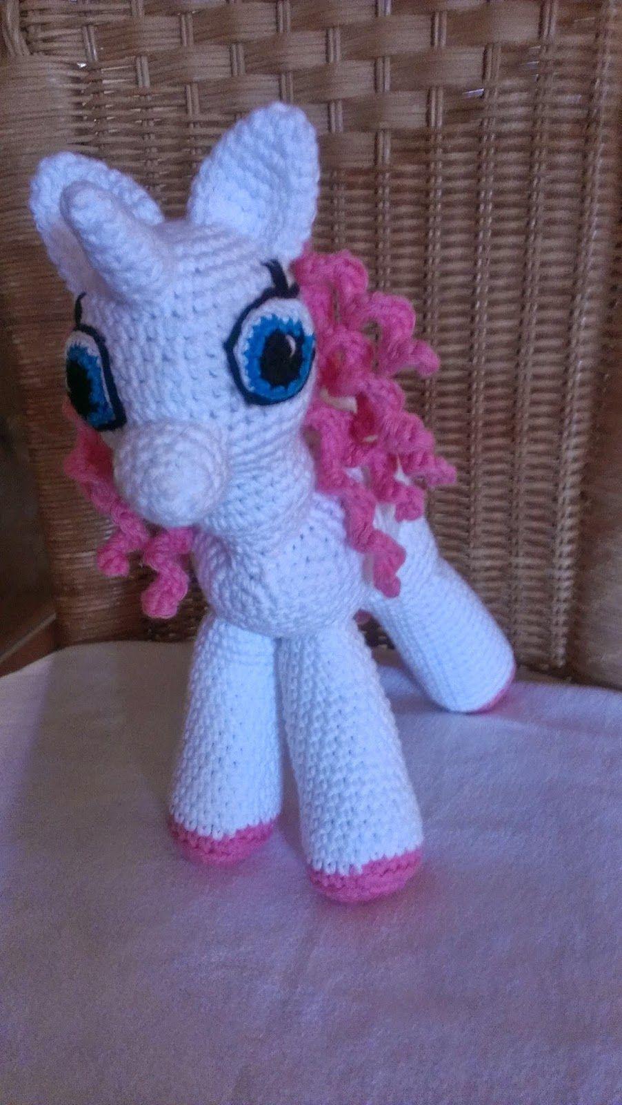 Wundervolle Amigurumi Welt: Ellie das Einhorn (My little Pony)