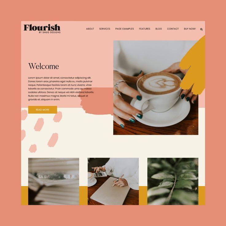 Flourish Wordpress Theme - Snug Designs