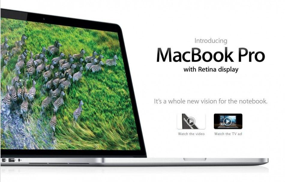 Apple Cites 13 Retina Macbook Pro In New Colors Ad The Tech Journal Macbook Macbook Retina Macbook Pro