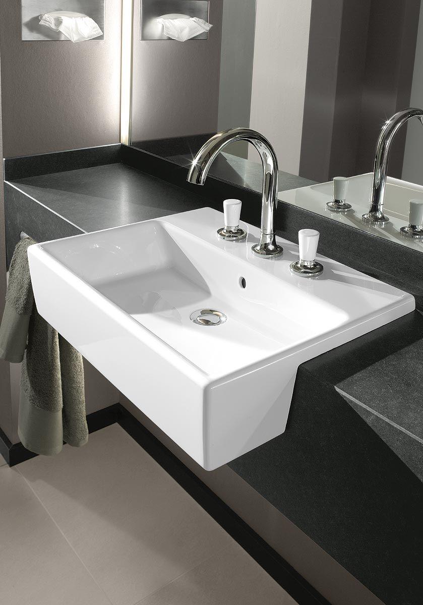 une vasque tr s design r alis e par villeroy boch. Black Bedroom Furniture Sets. Home Design Ideas