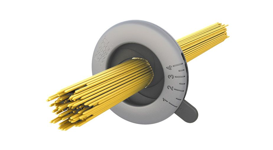 Handy Kitchen Gadgets: Spaghetti serving size measuring tool...very clever!