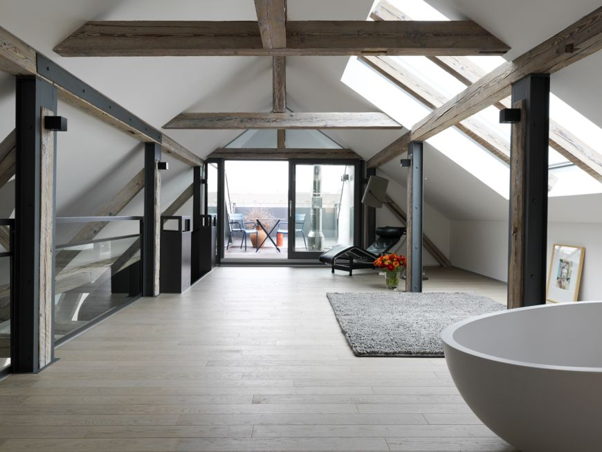 wellness 03 umbau sanierung eines jugendstildenkmals freiburg dachgeschossausbau altbau