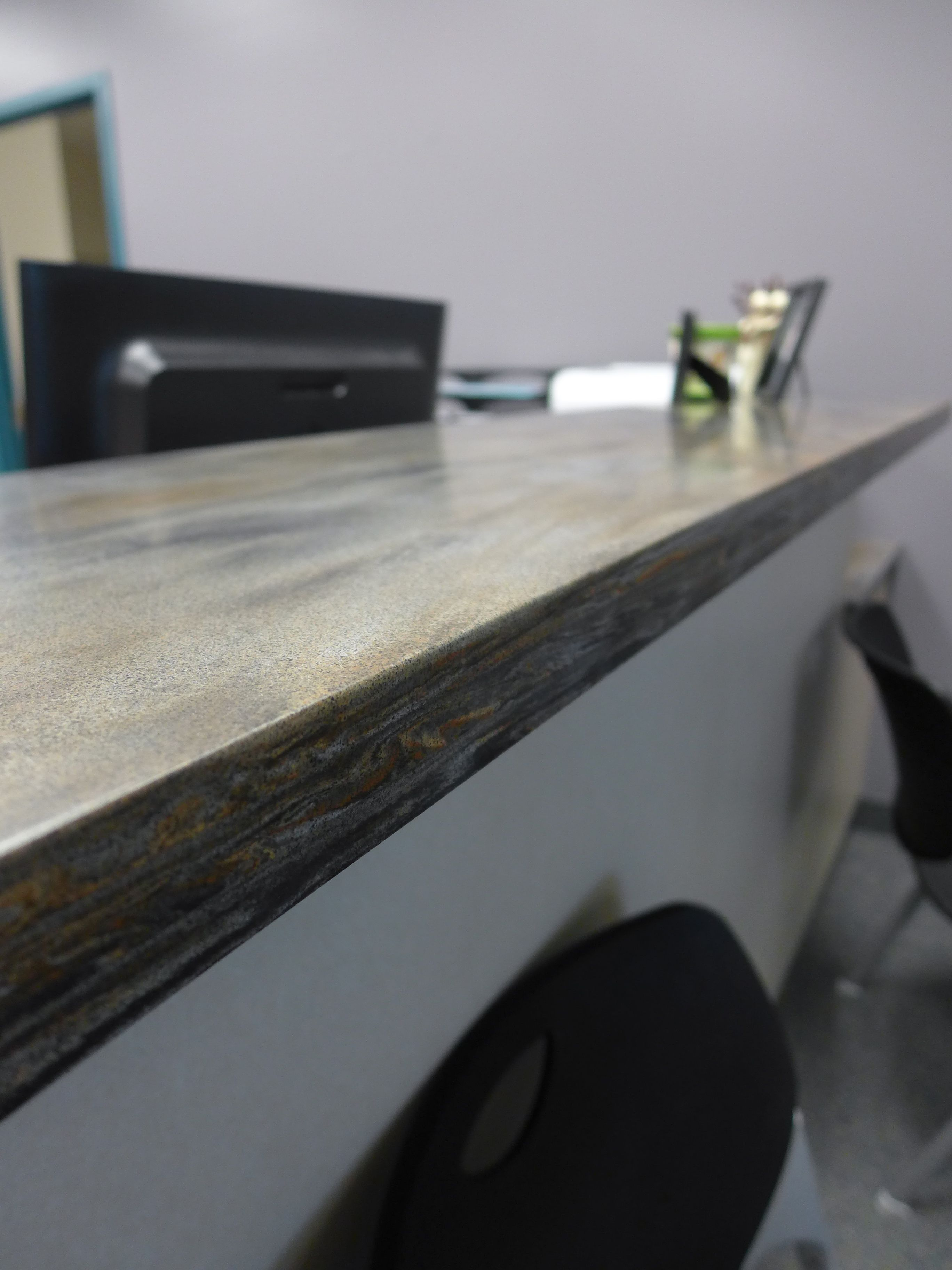Corian Sorrel Is Featured Throughout The Administrative