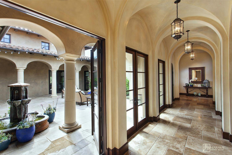 Maraya Interiors Old World Spanish Villa Spanishstyle Spanish Interior Design Spanish Style Homes Spanish Revival Home